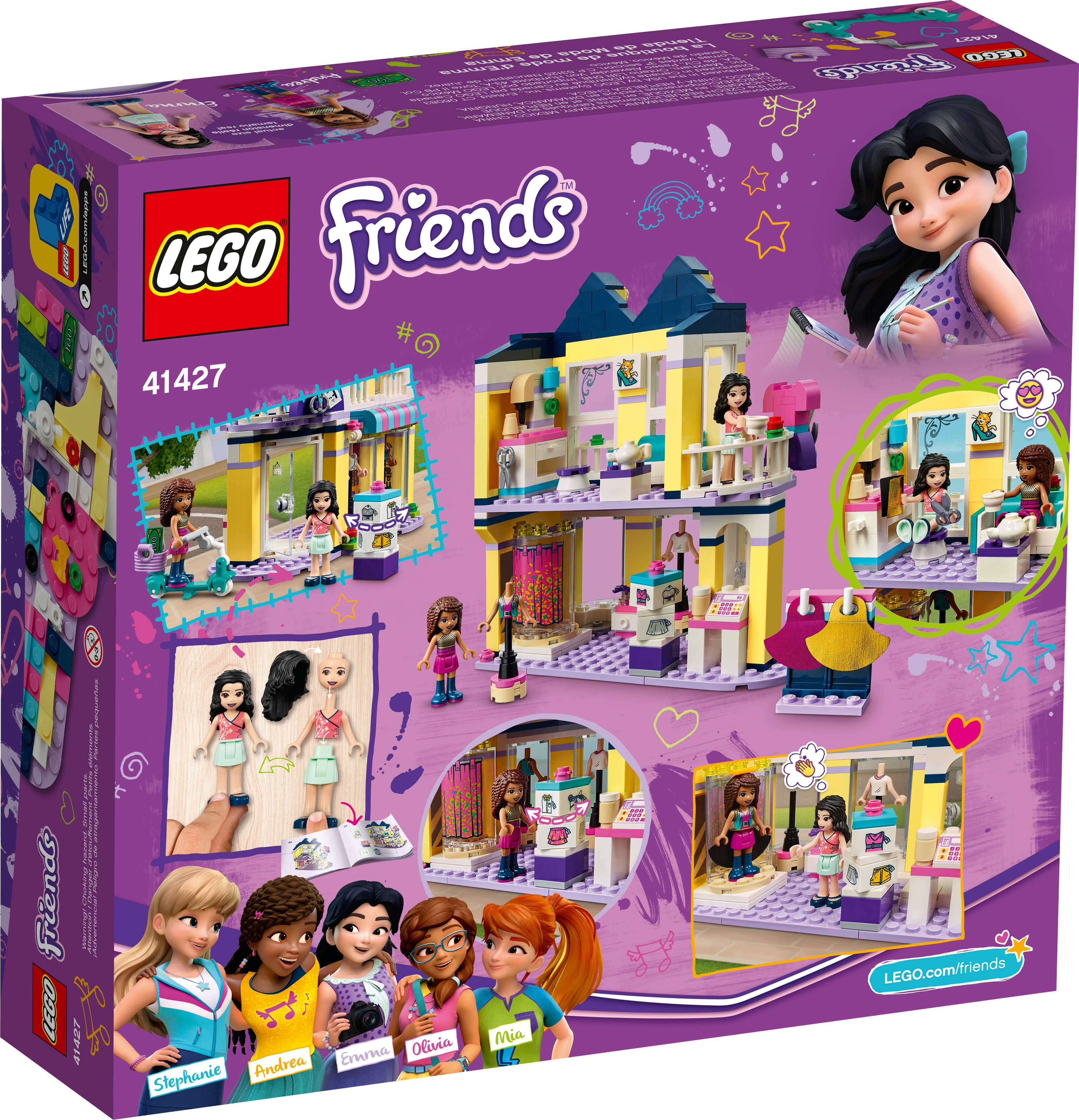 Emma S Fashion Shop 41427 Friends Buy Online At The Official Lego Shop Ae