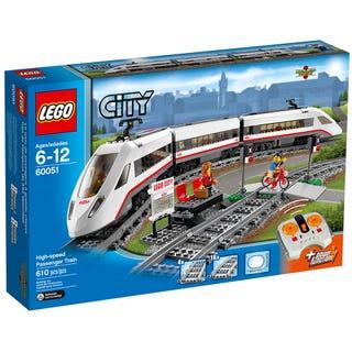 Le train de passagers à grande vitesse