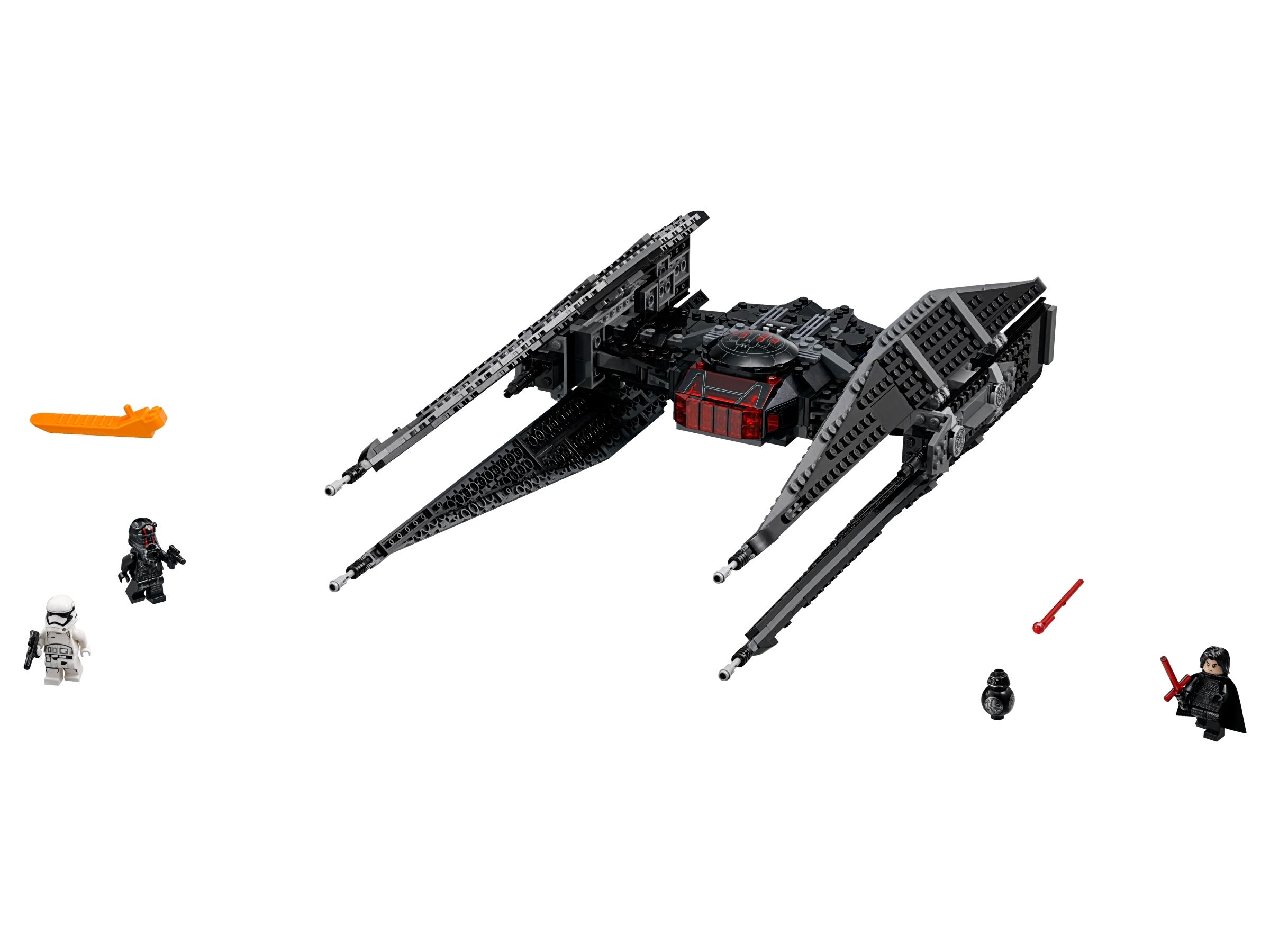 STAR WARS lego KYLO REN sith FIRST ORDER last jedi GENUINE 75179 tie fighter NEW