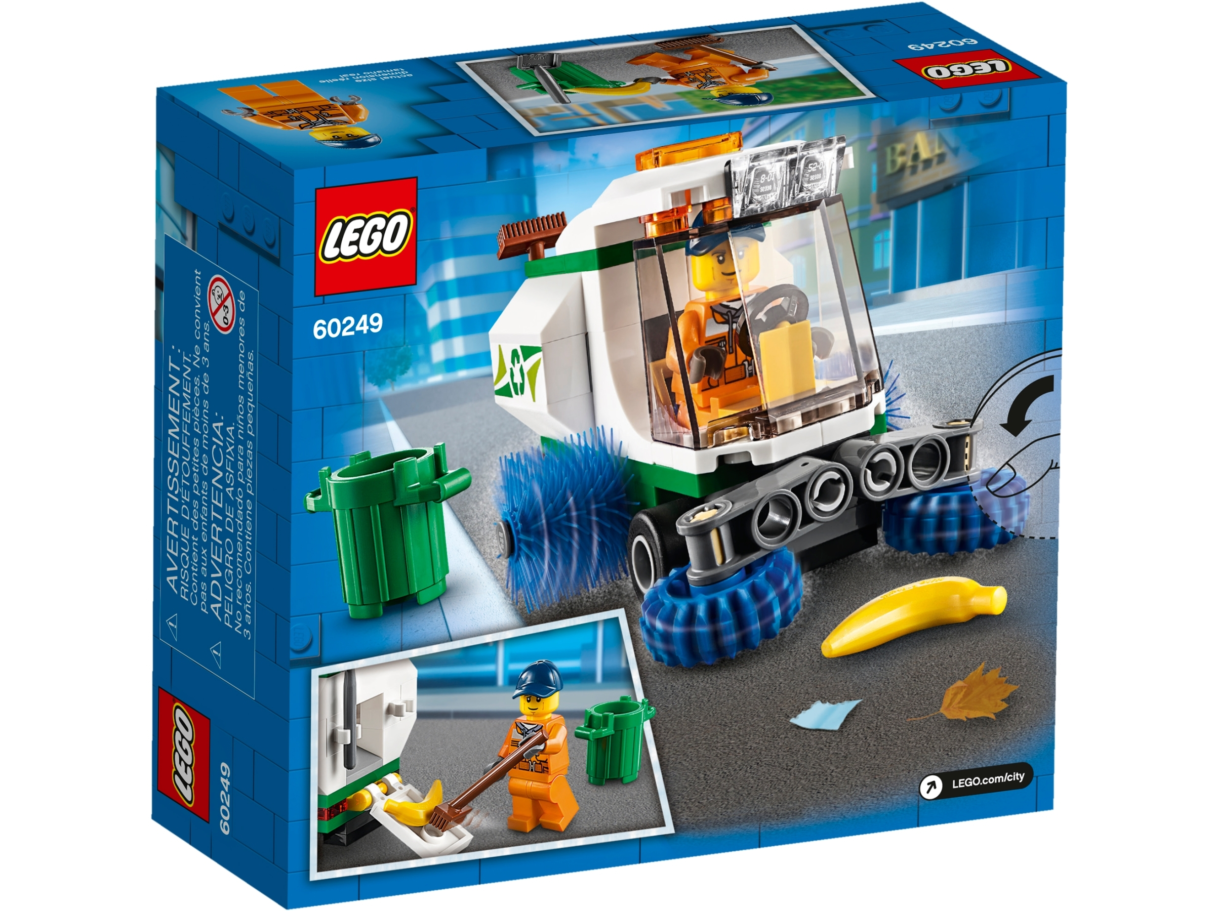 OVP LEGO City 60249 Straßenkehrmaschine NEU