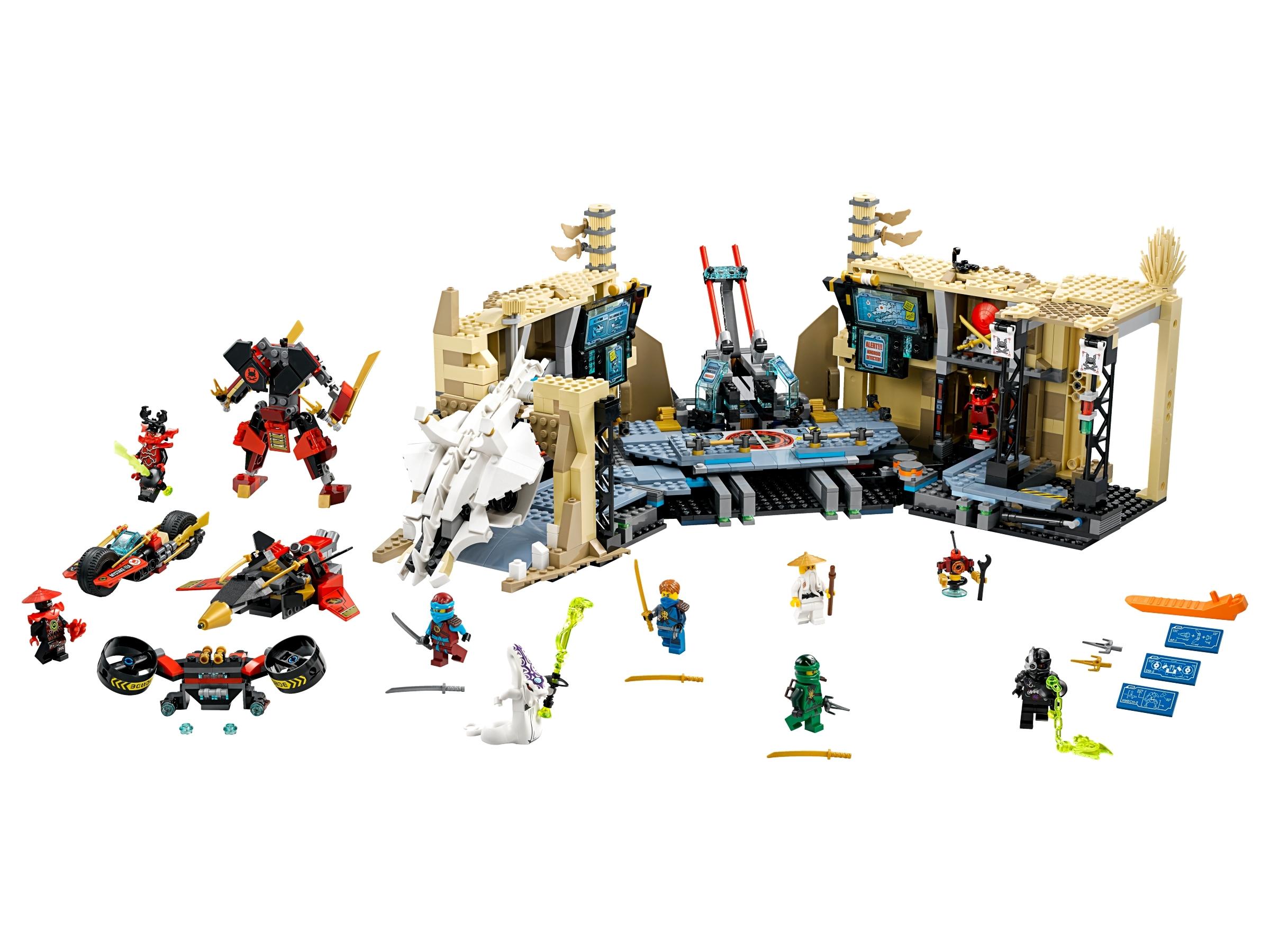 Lego Ninjago Lloyd minifigure w// weapons 70596 Samurai X Cave Chaos  new