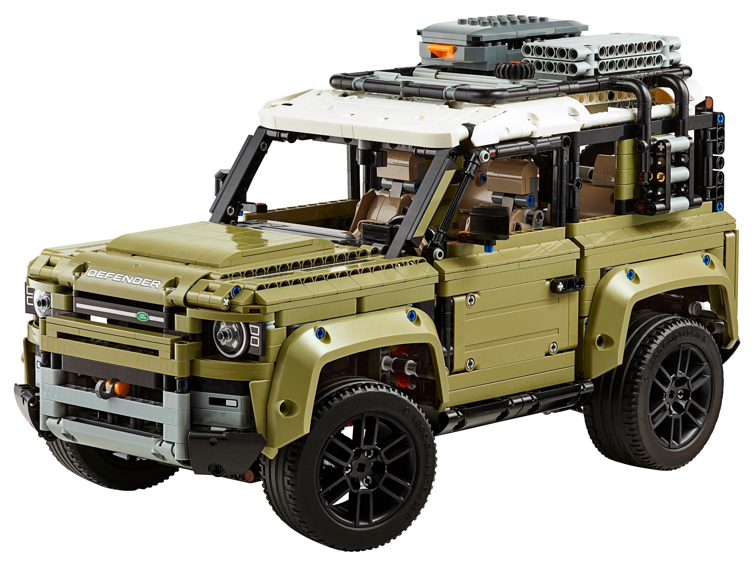 Defender z LEGO Technics!