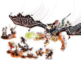 Le dragon du Sorcier au Crâne
