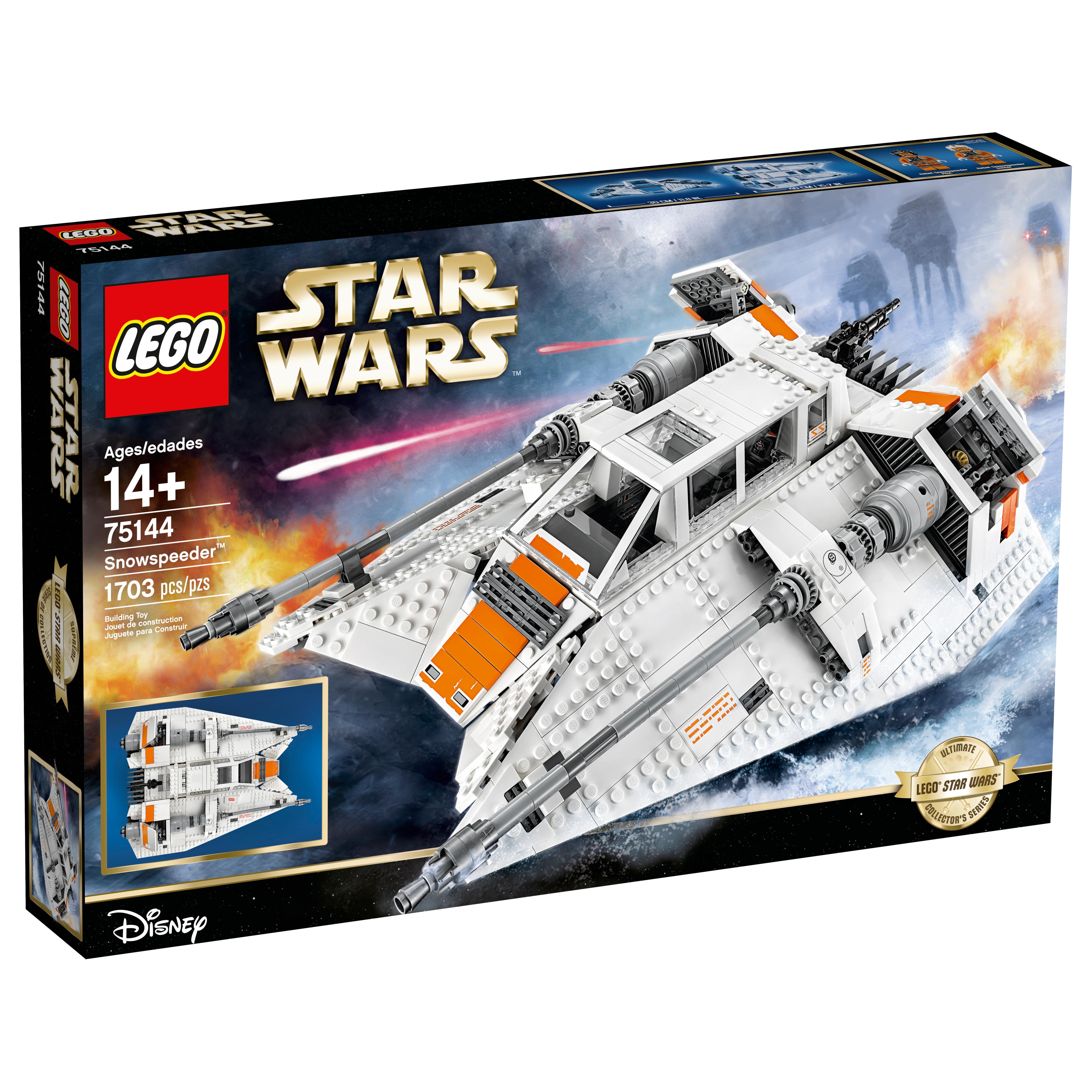CUSTOM sticker for LEGO 10129 Rebel Snowspeeder Star Wars
