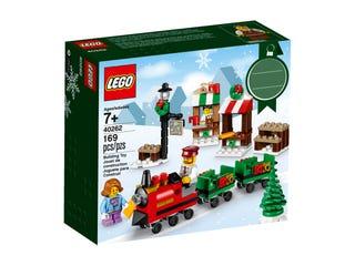 레고® 크리스마스 기차놀이