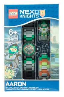 LEGO® NEXO KNIGHTS™ Aaron Kids Buildable Watch