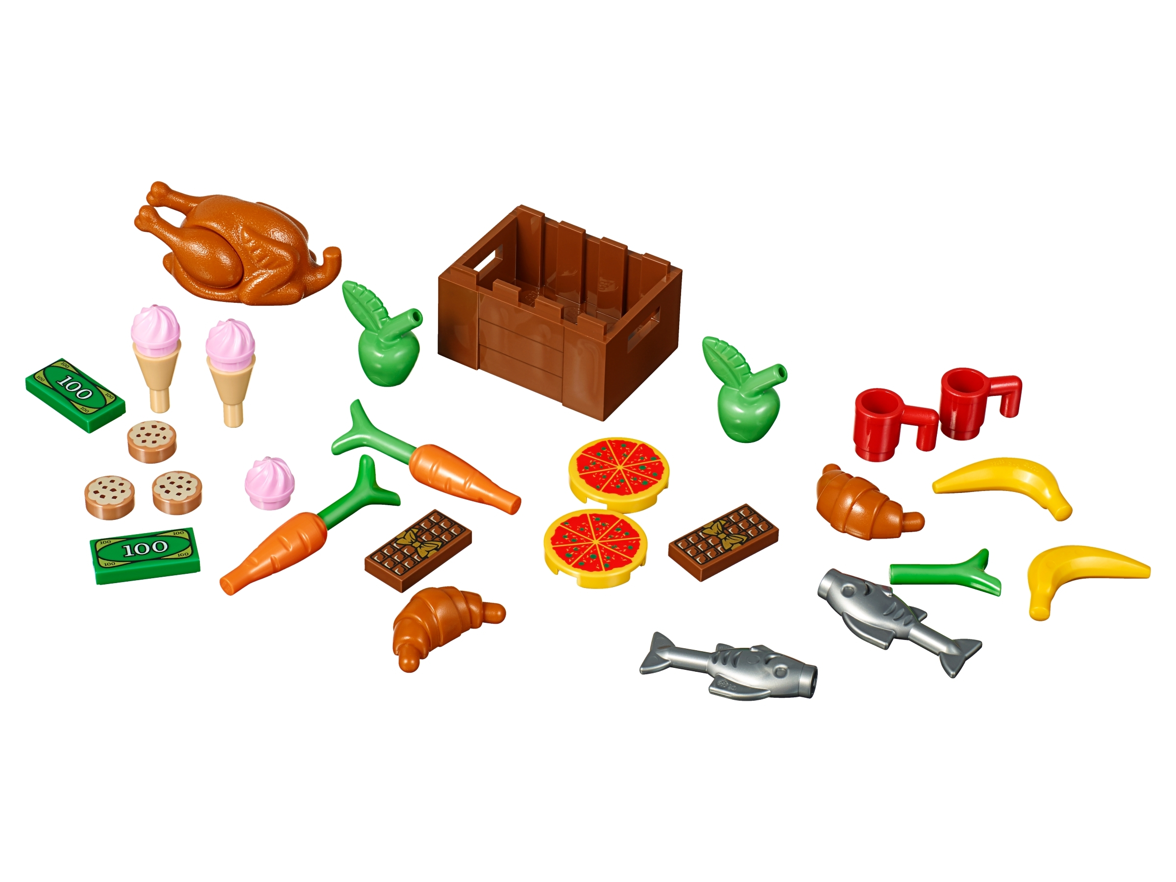 50 NEW LEGO CARROTS minifig minifigure food Vegetables.Free Shipping.