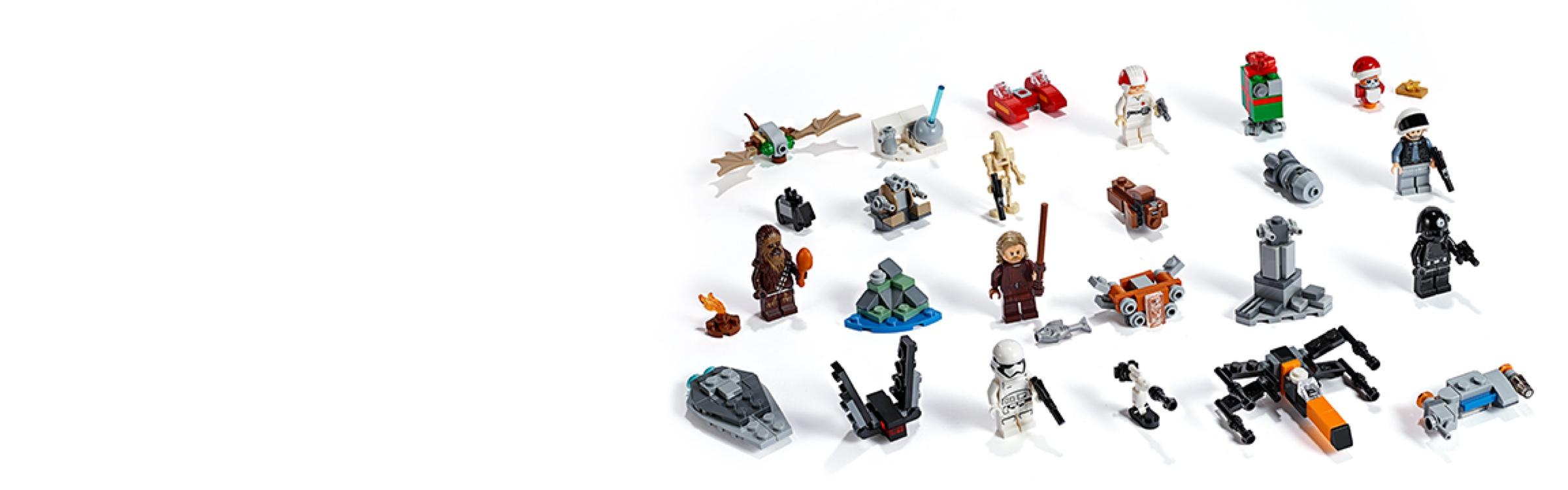 LEGO Star Wars: Advent Calendar 75245 New 5 Minifigs! 280pcs