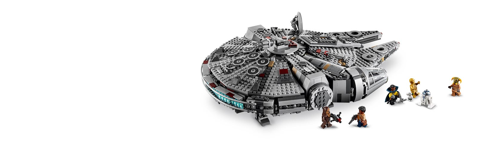 Millennium Falcon 75257 Star Wars Buy Online At The Official Lego Shop Us