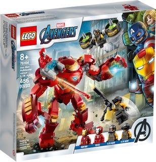 Iron Man Hulkbuster versus A.I.M. Agent
