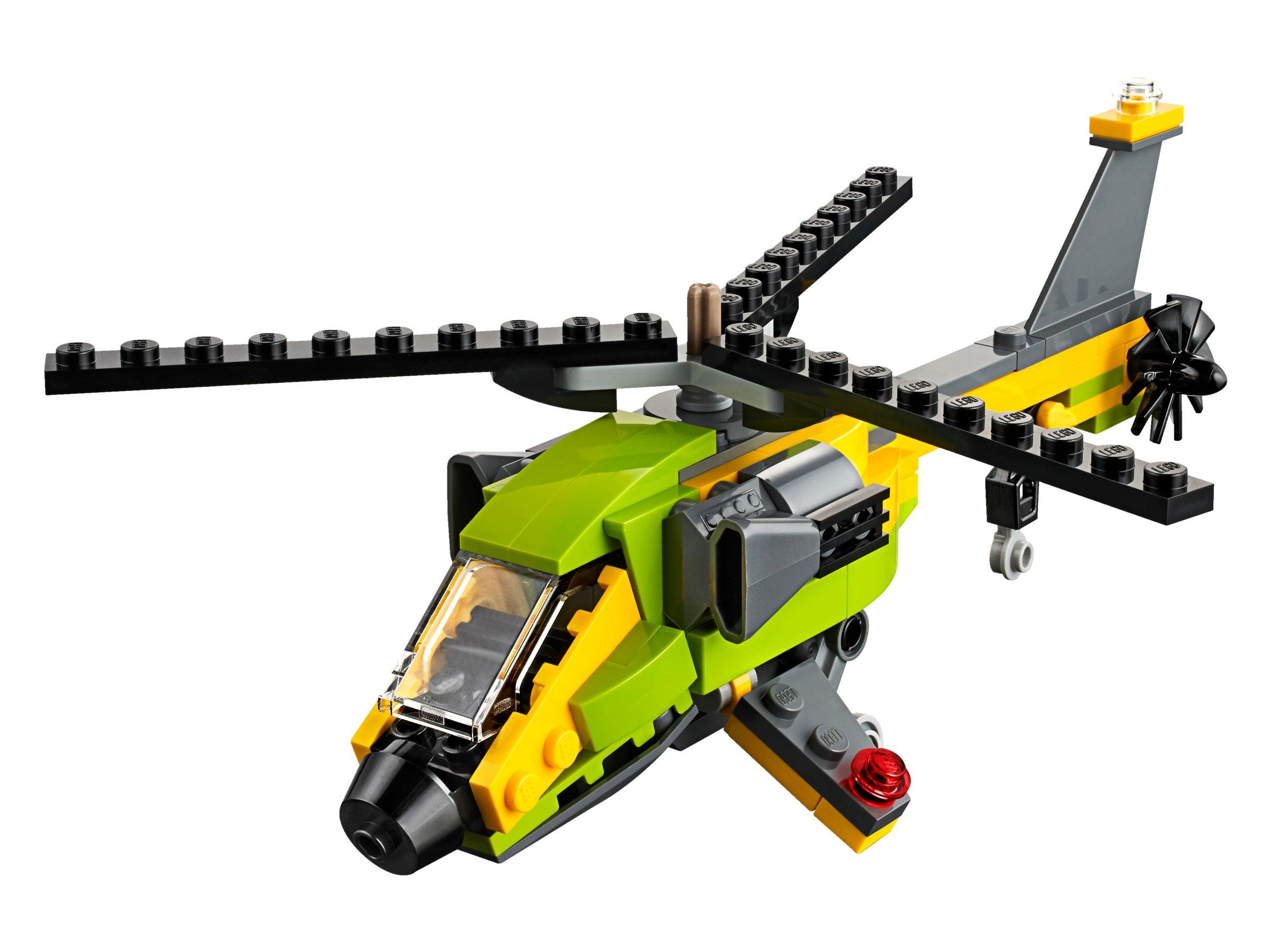 NEU /& OVP 31092  Hubschrauber-Abenteuer LEGO® CREATOR 3-in-1-Set