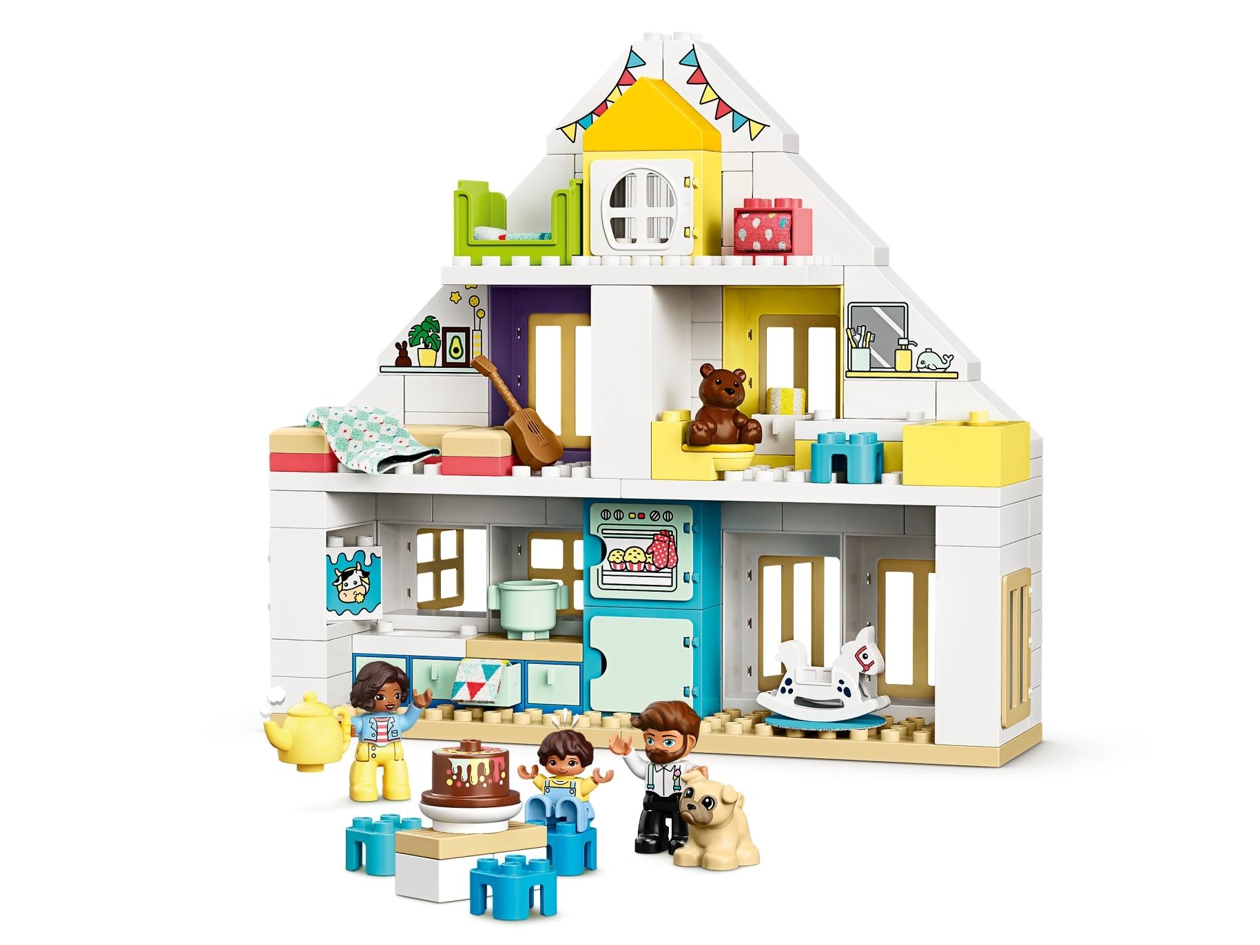2 lego duplo vintage special window building farm architecture room house