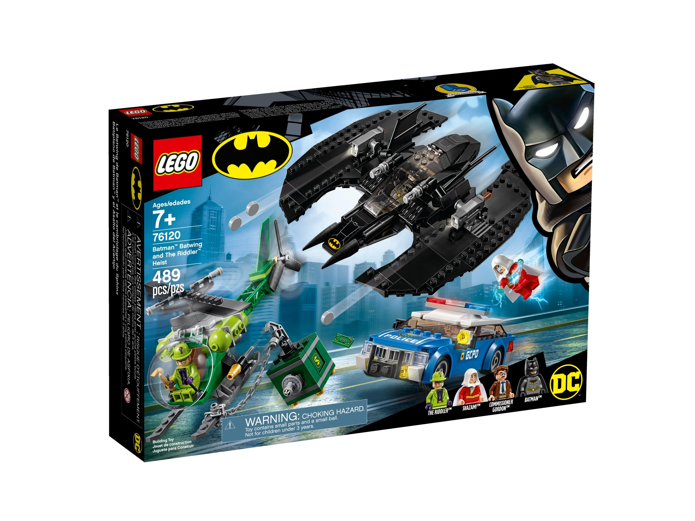 76120 Lego Batman Batwing and The Riddler Heist DC Batman