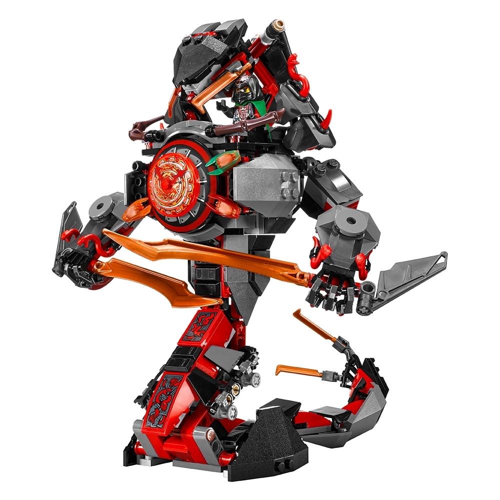 LEGO NINJAGO 70626 Dawn of Iron Doom MISB 5835Z-3+4