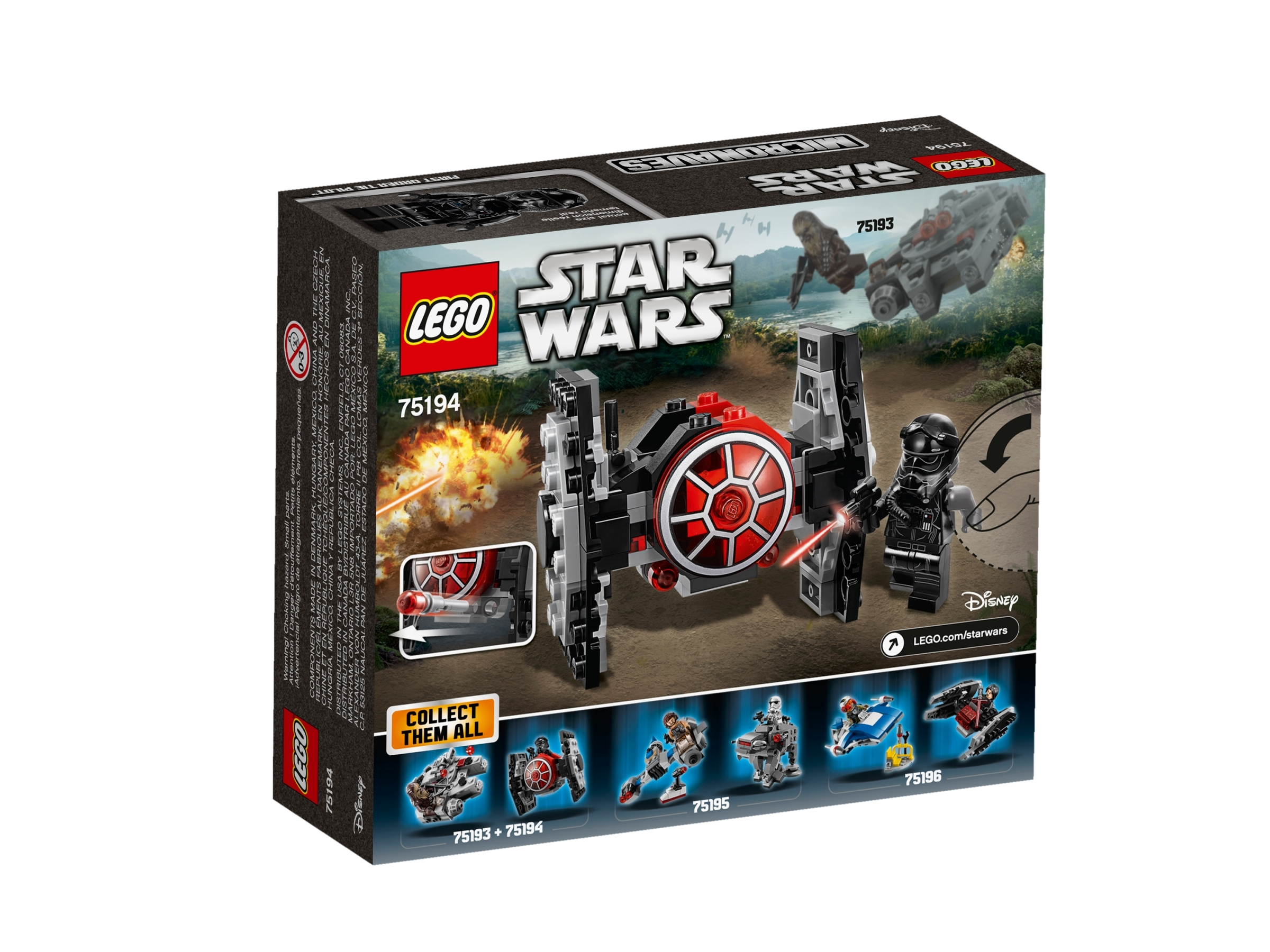 LEGO 75194 FIRST ORDER TIE FIGHTER Series 5 Star Wars Microfighter Set