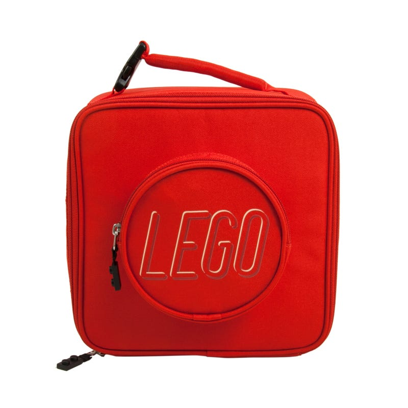 LEGO® Brick Lunch Bag Red