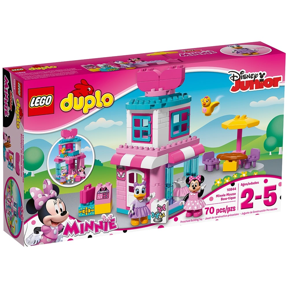 Lego Duplo Puppenhaus 1 X Minnie Mouse Maus MICKEY Figur 10889 Rot Rock NEU Wow