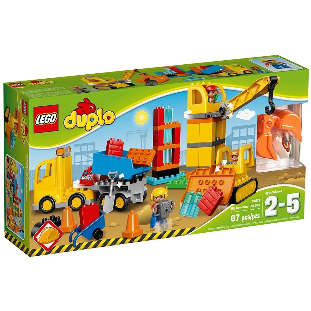 Lego Duplo Big Construction Site by LEGO