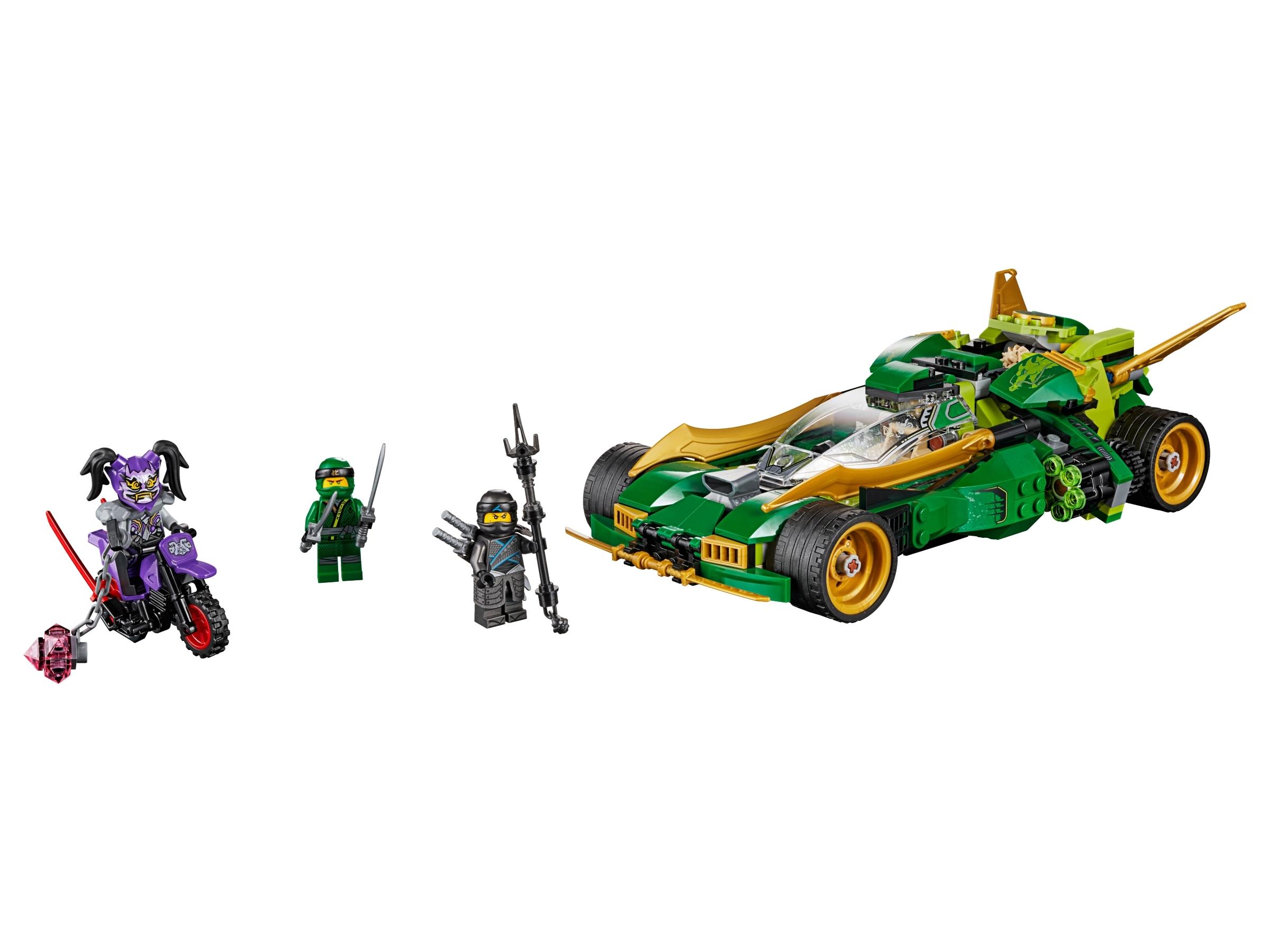 Lego Ninjago Masters of Spinjitzu Ninja Nightcrawler 70641 Brand New 552 Pieces