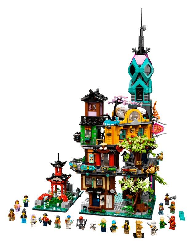 Die Gärten von NINJAGO® City