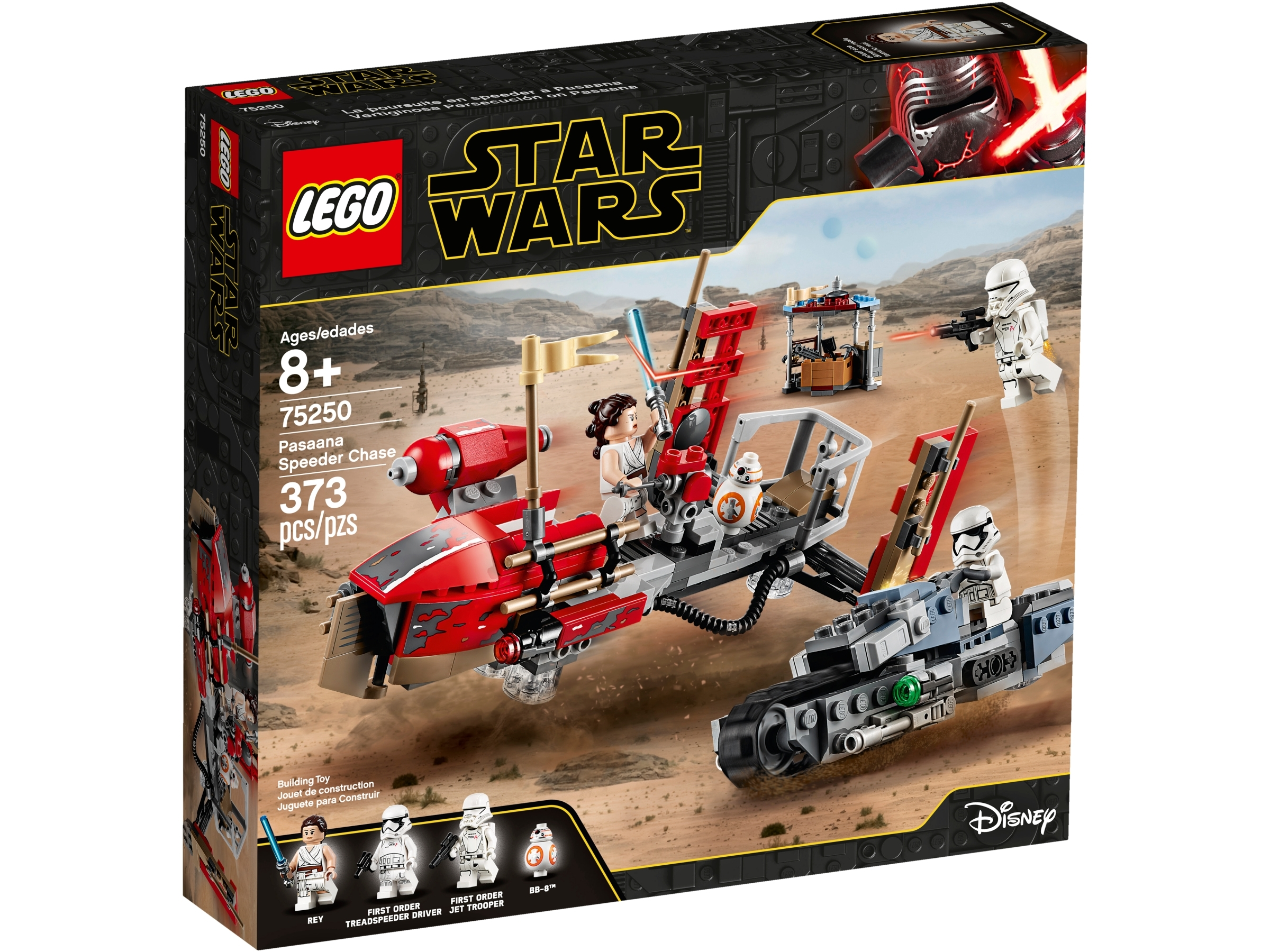 Pasaana Speeder Chase 75250 Star Wars Buy Online At The Official Lego Shop Us