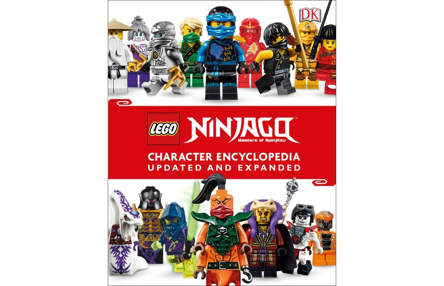 LEGO® NINJAGO® Character Encyclopedia Updated and Expanded