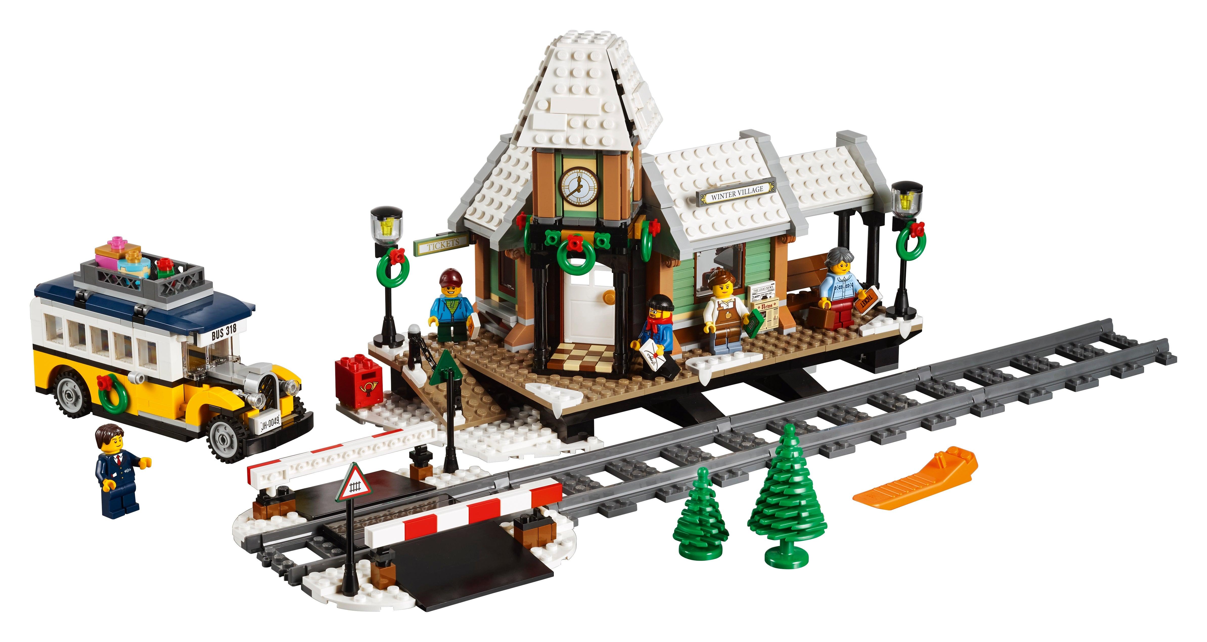 Lego 10259 Creator Winterlicher Bahnhof NEU/&OVP Passt zu Lego 60197 60198
