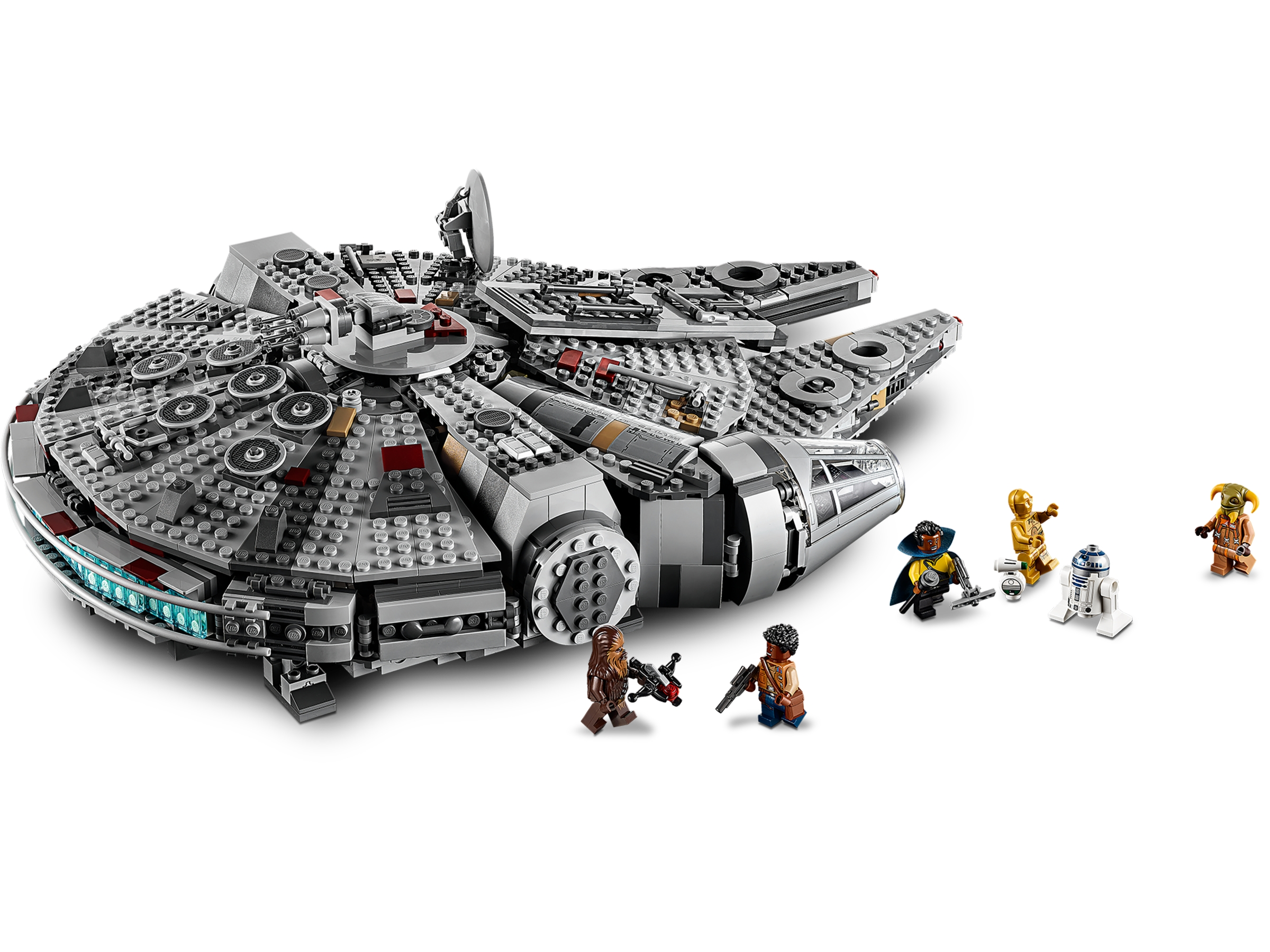 Millennium Falcon 75257 Star Wars Buy Online At The Official Lego Shop My
