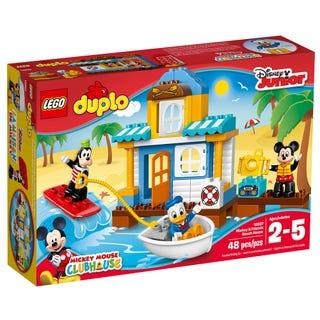 La maison à la plage de Mickey et ses amis