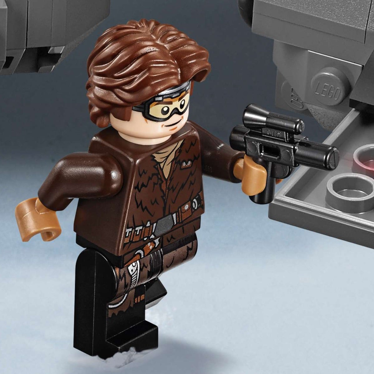 Han Solo  old Star Wars minifigure movie toy figure