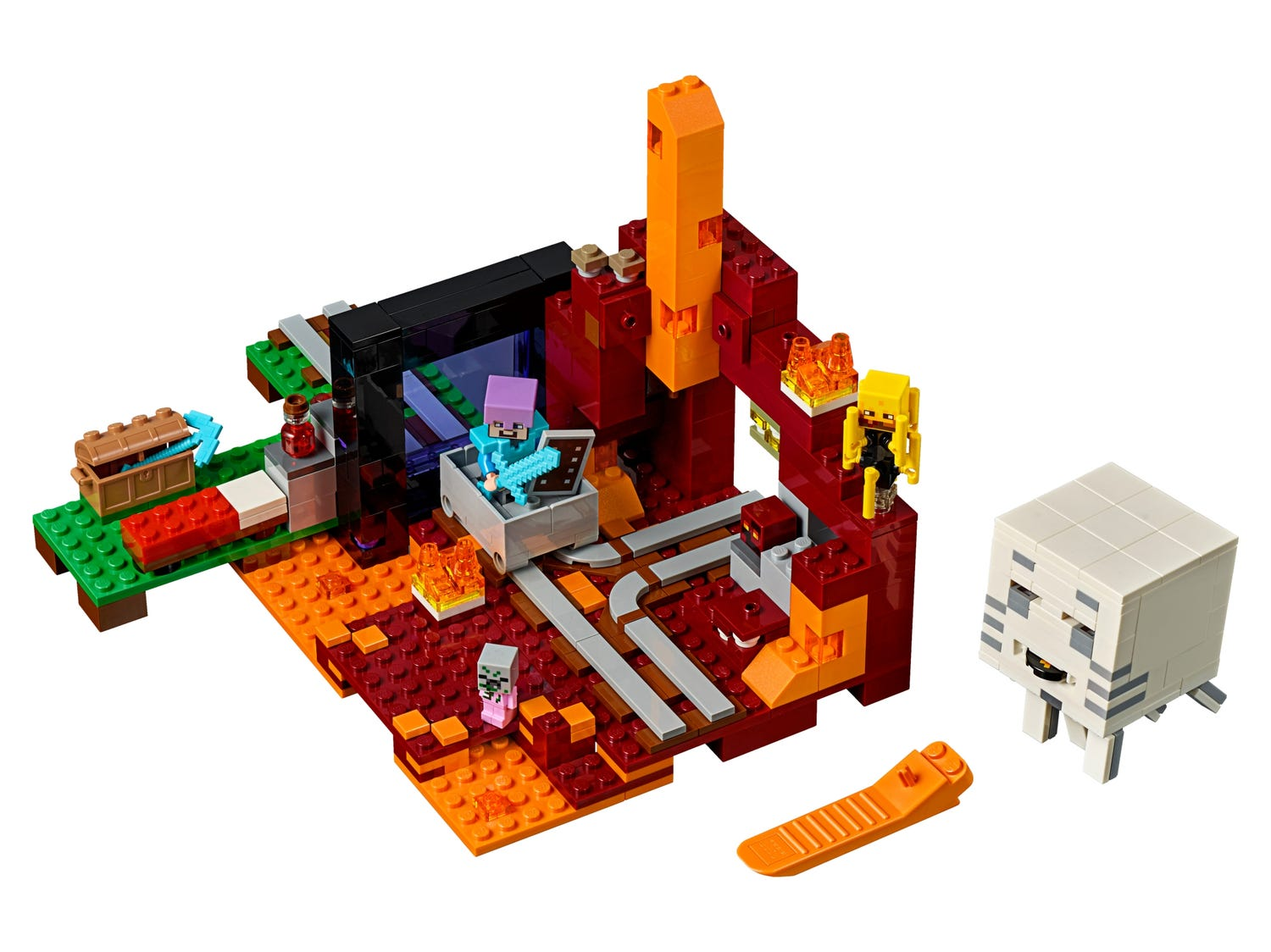 The Nether Portal 21143   Buy online at the Official LEGO® Shop SK