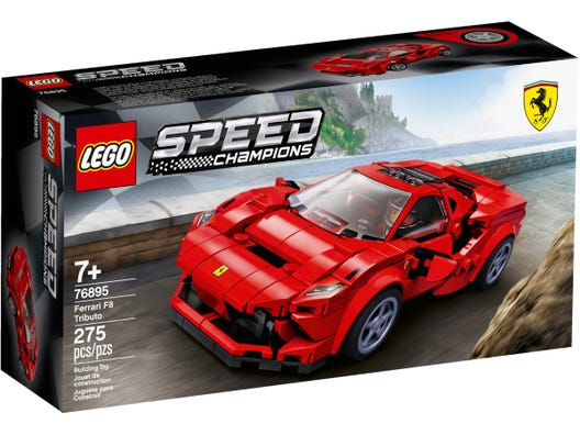 Ferrari F8 Tributo 76895 Speed Champions Buy Online At The Official Lego Shop Us