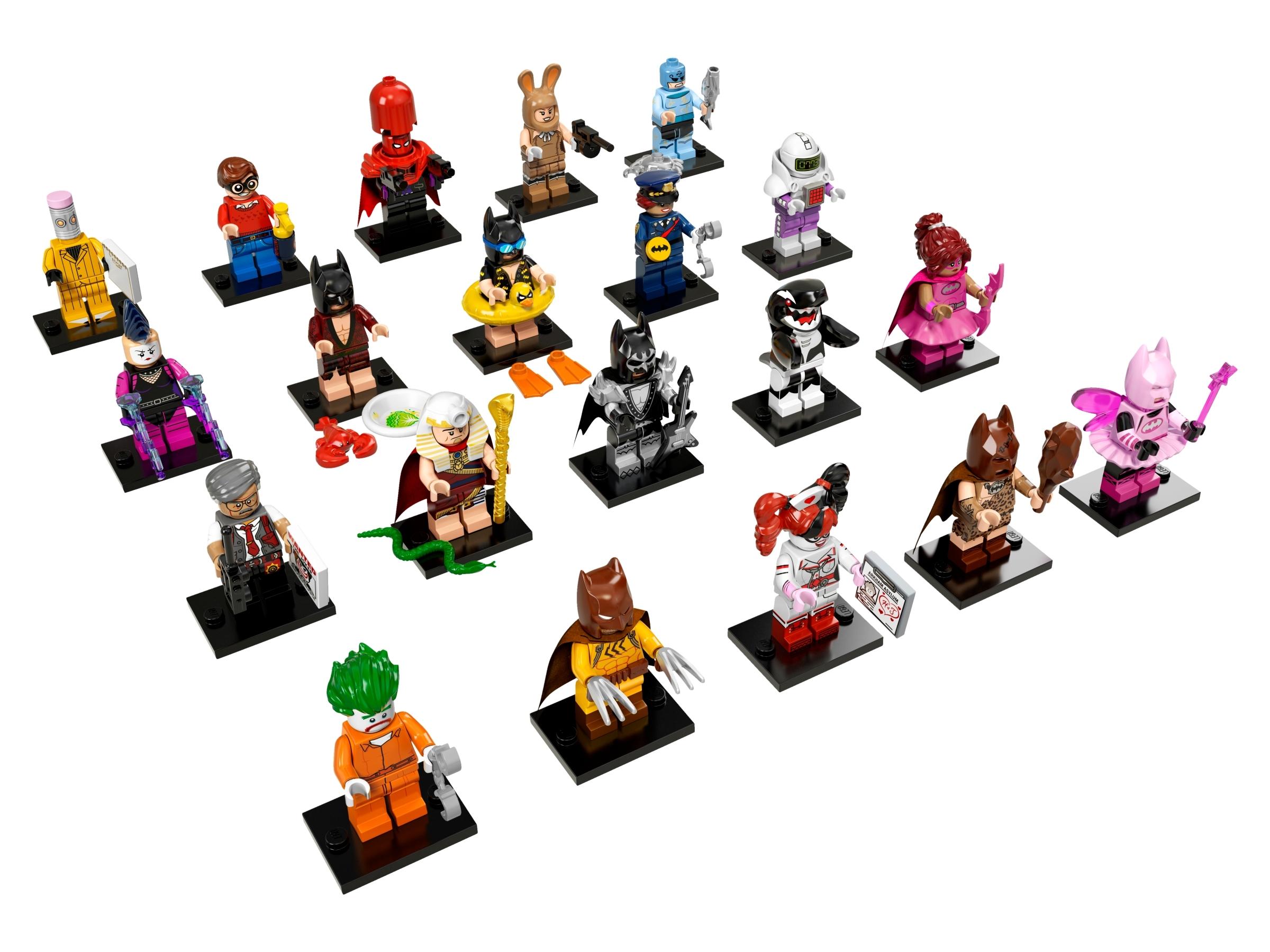 LEGO THE BATMAN MOVIE VACATION BATMAN # 5 MINI FIGURE # 71017 FREE SHIPPING