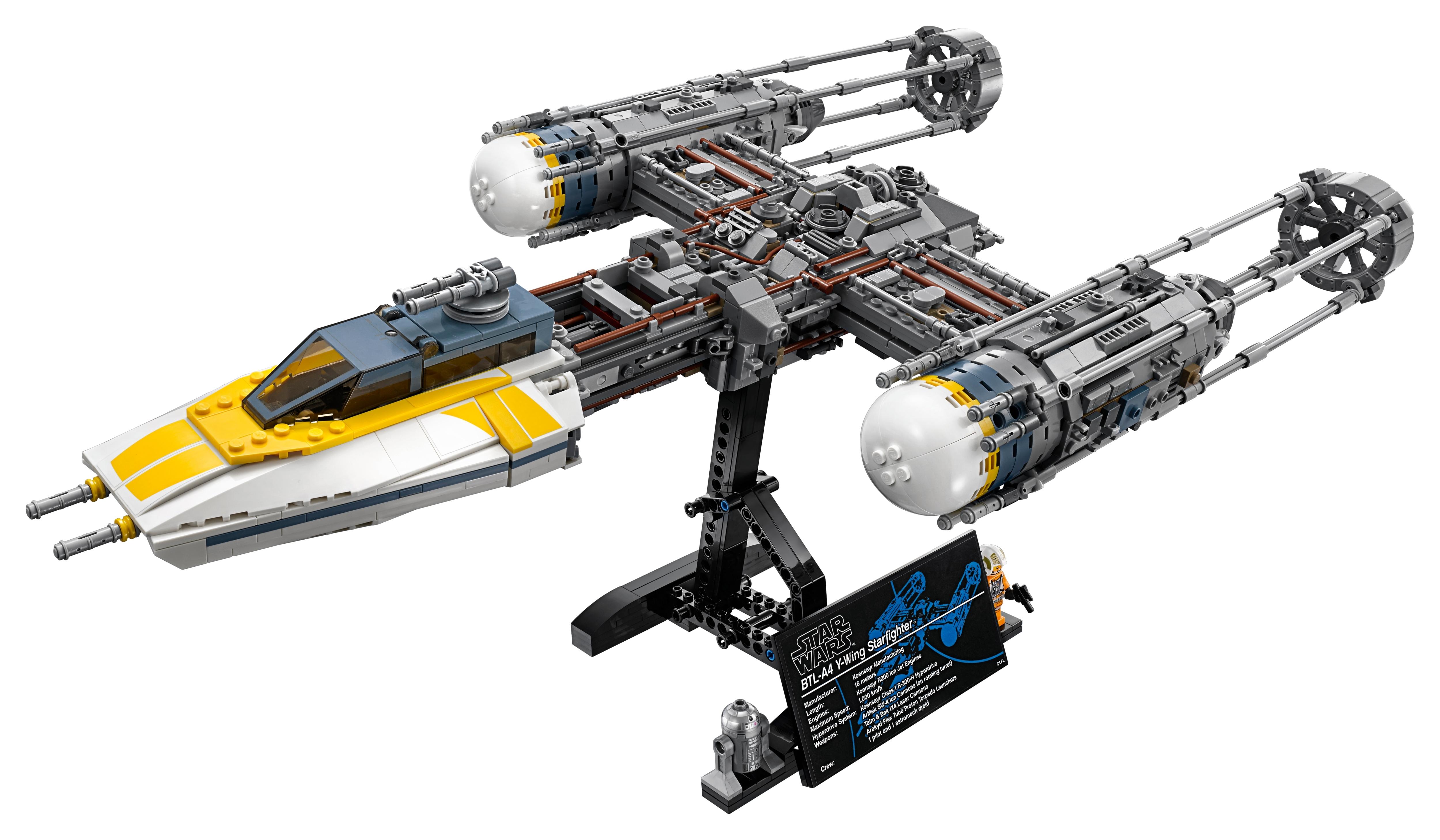 Dutch Vander UCS Y-Wing 75181 Lego Star Wars Minifigure