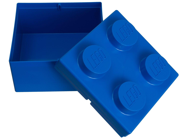 Brique de rangement LEGO® 2x2 bleue