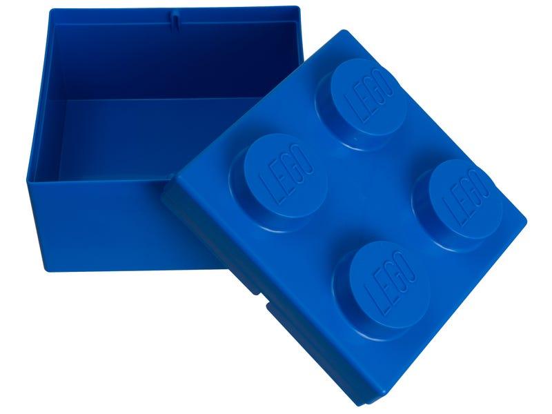 LEGO 2x2 Blue Storage Brick