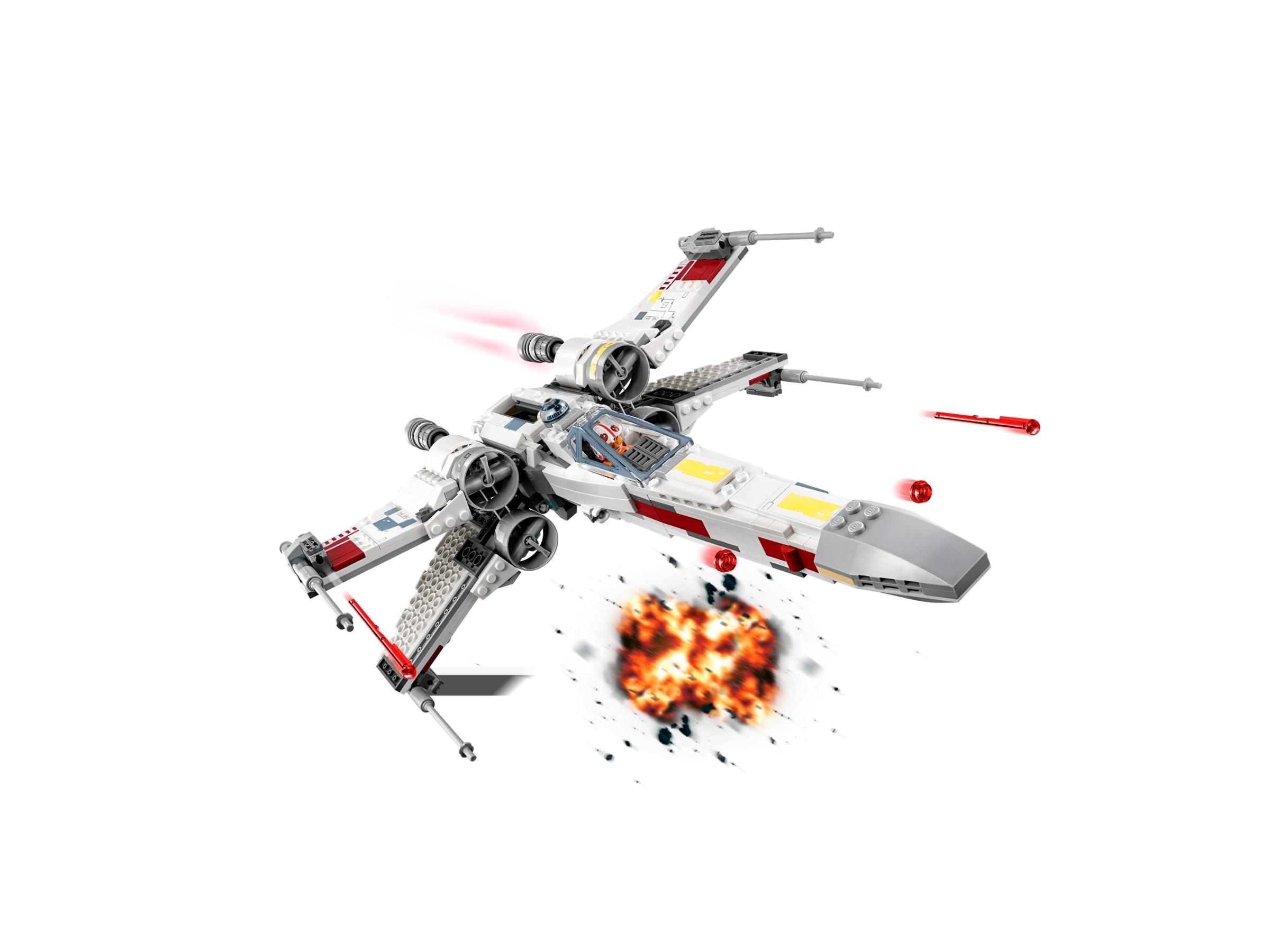 Lepining StarWars Series X-Wing Starfighters Star Wars 75218 Building Blocks