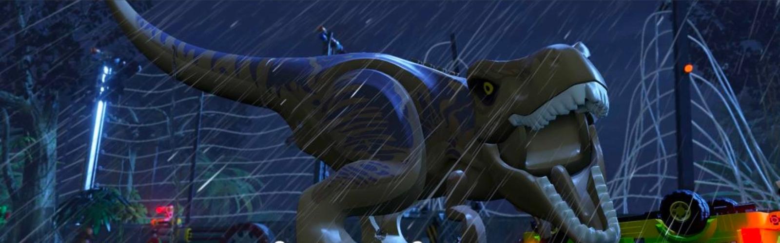 Banner del videojuego Jurassic World