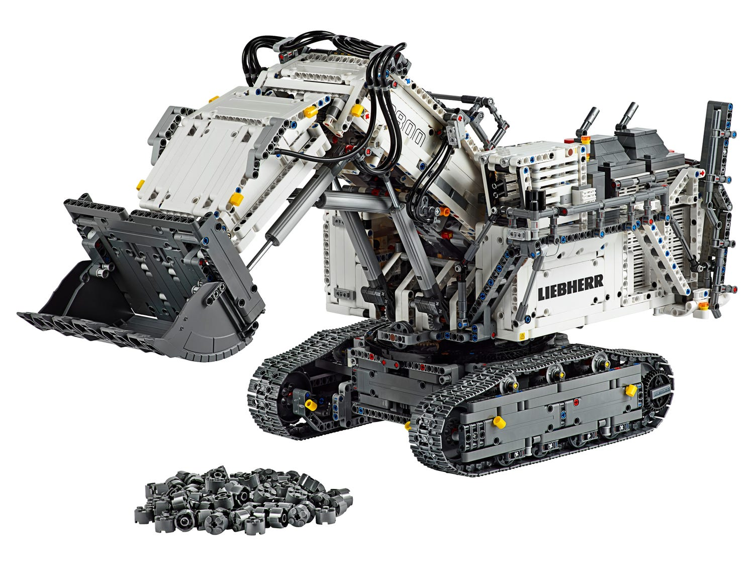 Liebherr R 9800 Excavator 42100 Powered Up Buy Online At The Official Lego Shop Gb