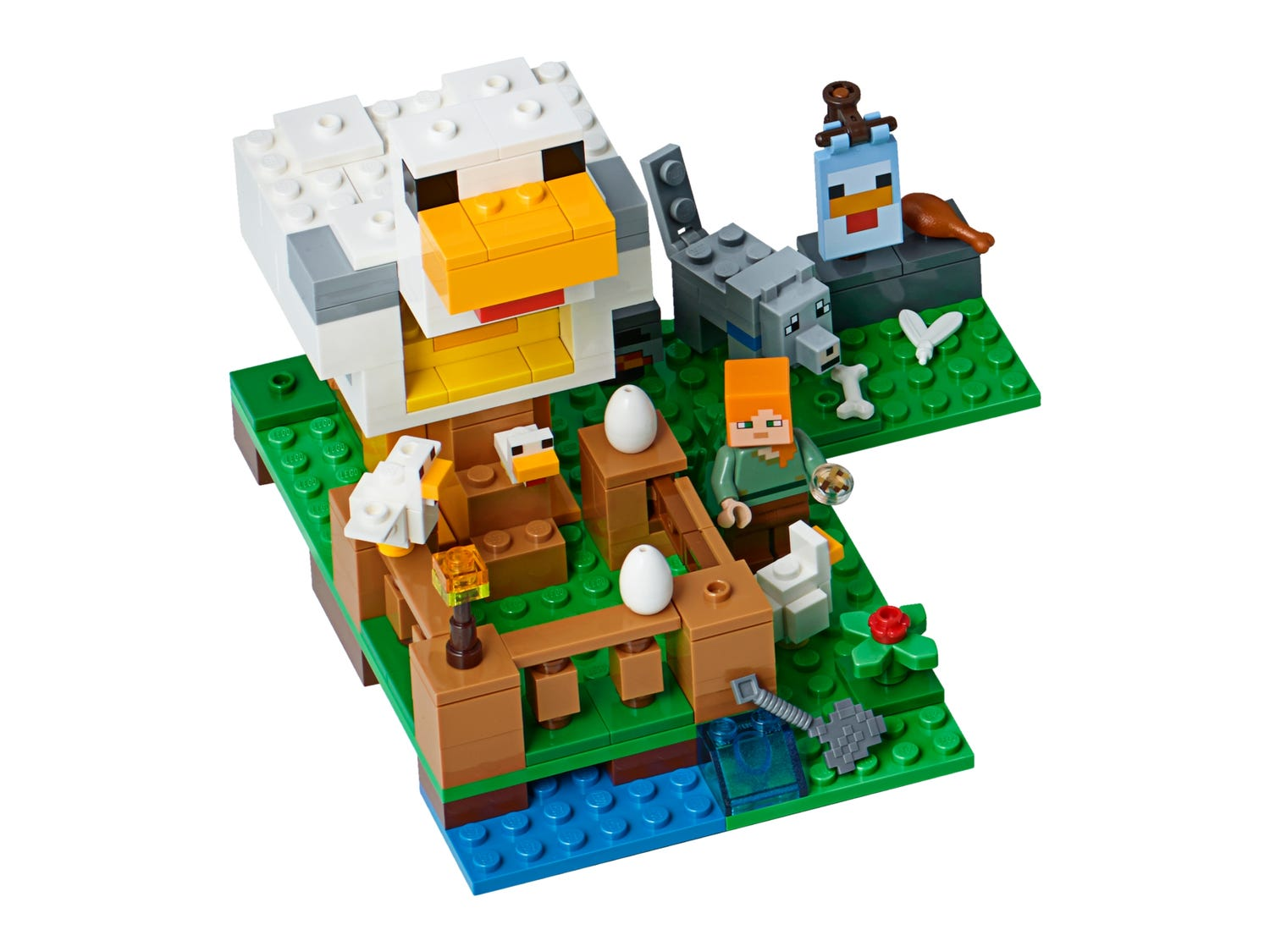 The Chicken Coop 21140 Minecraft Buy Online At The Official Lego Shop Lv