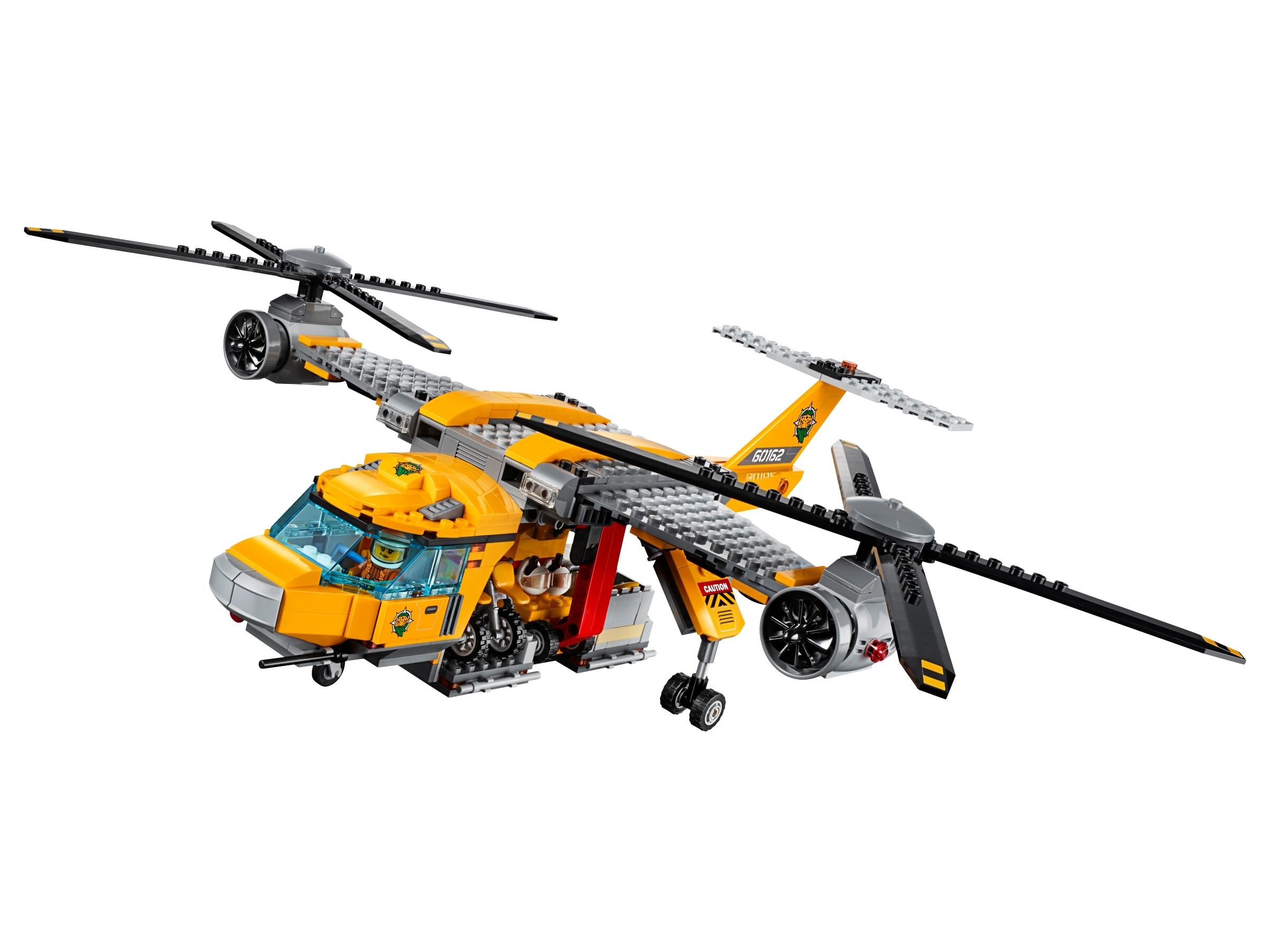 LEGO City 60162 Jungle Explorers Jungle Air Drop Helicopter 1250pcs LAST 3 LEFT!