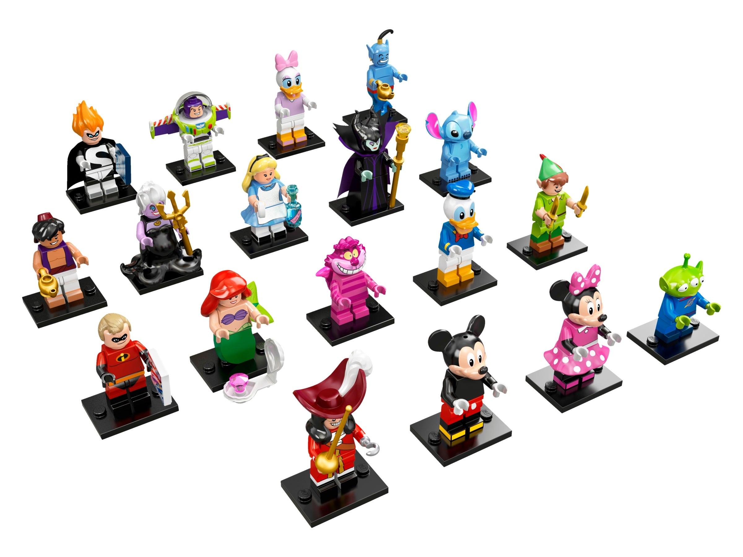 MINIFIGURES LOT DISNEY LA BANDE A PICSOU CUSTOM compatible LEGO