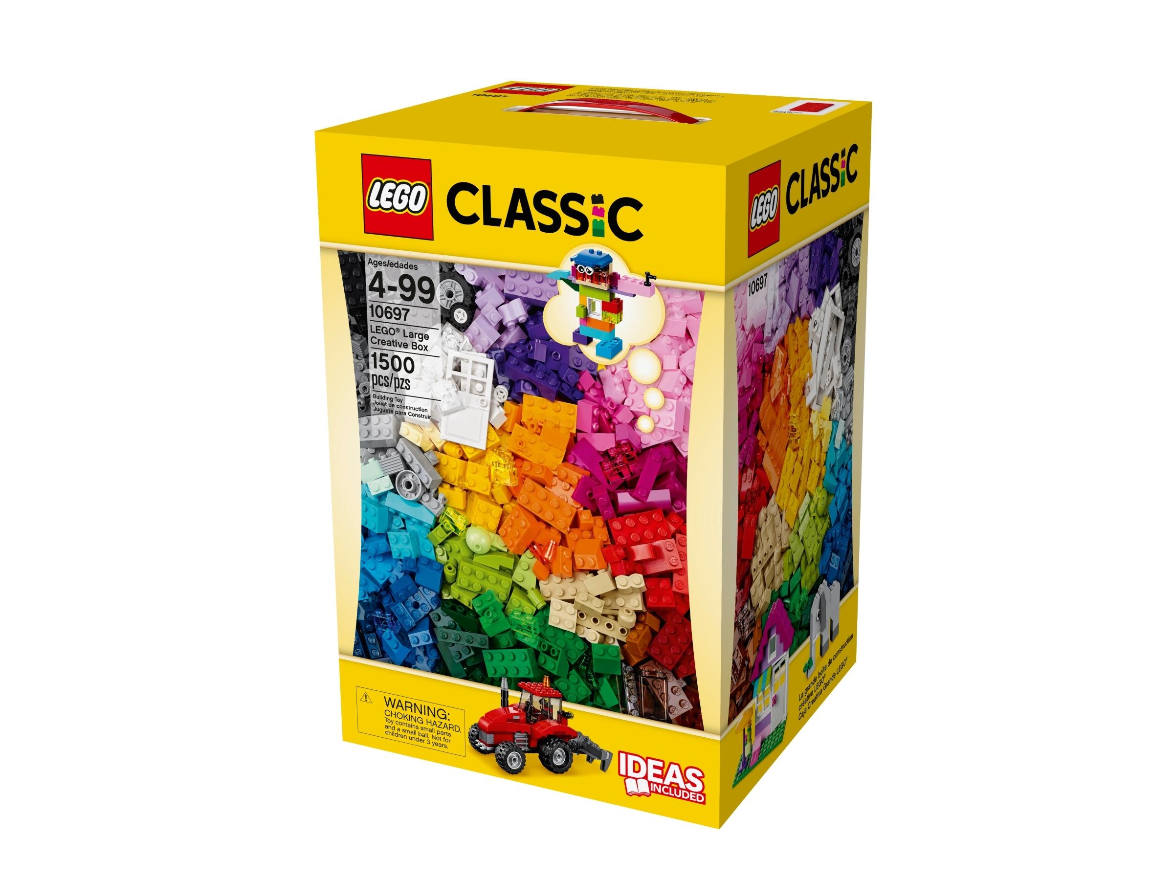 LEGO Classic 10697 Große Kreativ Steinebox, 1500 Steine