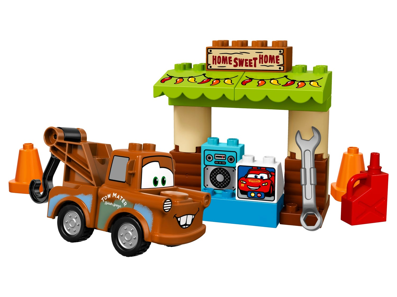 Mater S Shed 10856 Duplo Buy Online At The Official Lego Shop Us