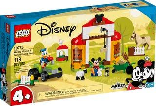 Mickey Mouse og Anders Ands bondegård