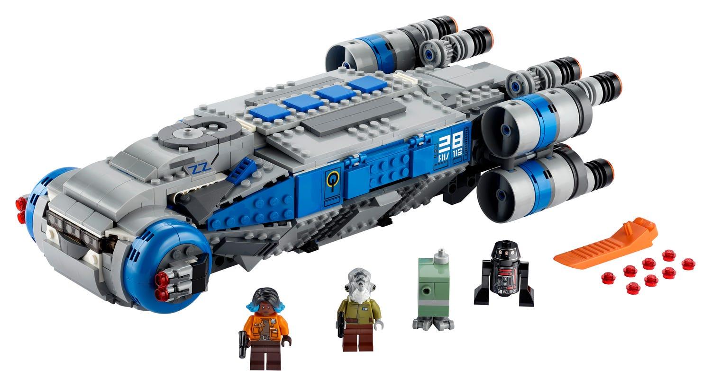 Ellenállás oldali I-TS teherszállító 75293 | Star Wars™ | Hivatalos LEGO®  Áruházból HU