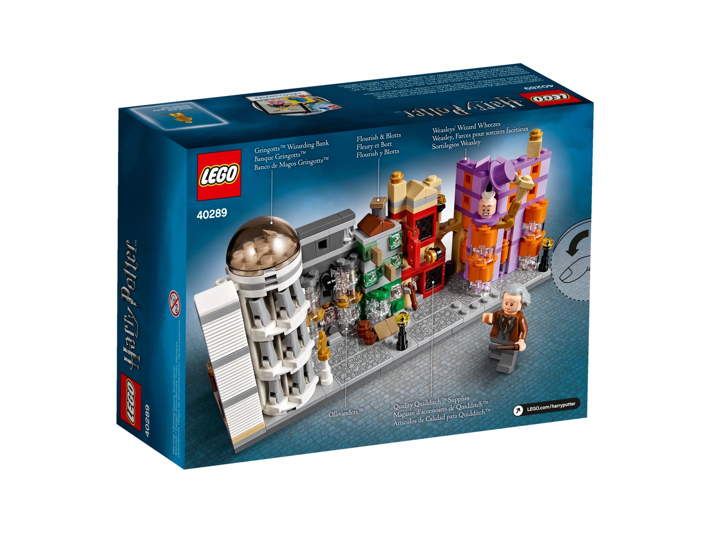 new, sealed #40289 LEGO Harry Potter Diagon Alley set