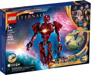 LEGO® Marvel Przedwieczni — W cieniu Arishem