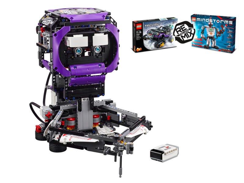 Mindstroms Build Bot DOODLEBOT Sidekick Tall