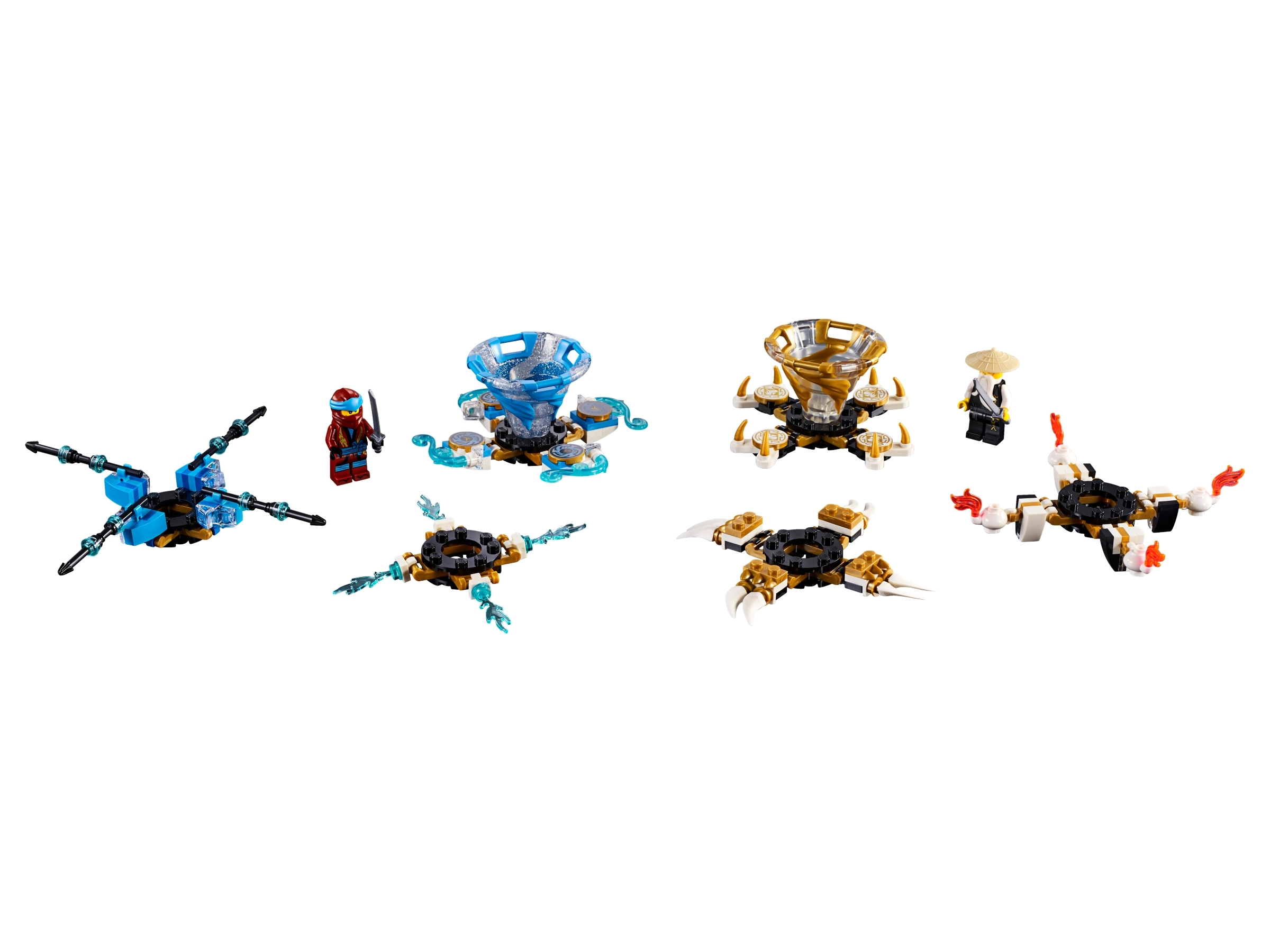 Lego 853097 Ninjago Kai Keychain Brand New w// Tags Trust US Seller